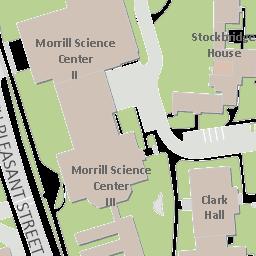 Umass Amherst Campus Online Map